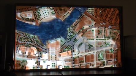 城市总体规划数字沙盘展示系统
